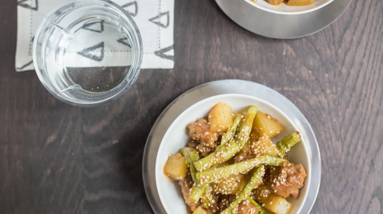 Order Now: Pork Hot Pot with Long Beans and Glazed Potatoes