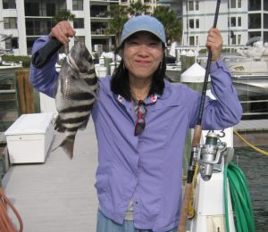 natalie fishing, tomboy, gender, hobbies, daddy's girl