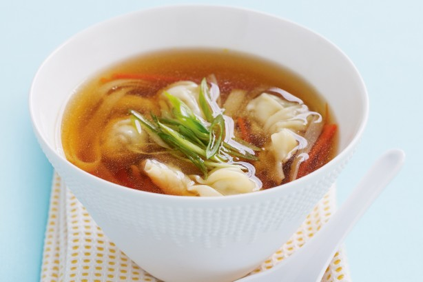 Wonton soup recipe with chicken