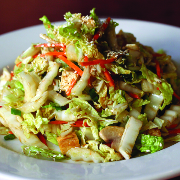 asian salad, cabbage, slaw