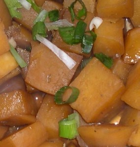 Delicious Healthy Five spice rutabaga