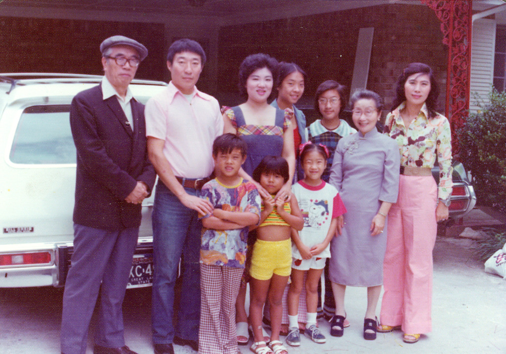 asian american family in georgia