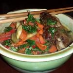 Asian Ramen Noodle Soup