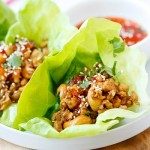 Rotisserie Chicken Lettuce Wraps