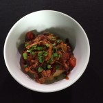 Asian Rice and Noodle Bowls with Soy Ginger Vidalia