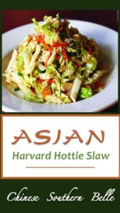 Asian Slaw: No mayonnaise and dairy-free-- perfect for hot weather picnics,potlucks! The zesty blend of citrus and ginger creates a slaw everyone will love!