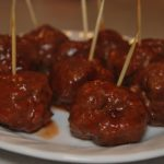 crock pot teriyaki meatballs