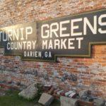 Turnip Greens and Jelly Balls in Darien, Georgia