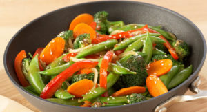 stir fry, vegetables, cooking class