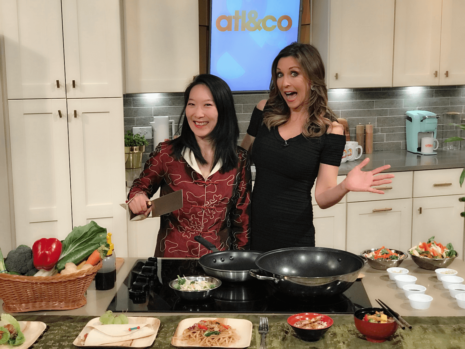 Easy Asian Home Cooking with Natalie: 1-Minute Stir Fry on TV