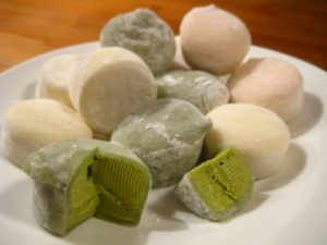How to make mochi-- Asian sticky rice buns that are perfect for any celebration: Chinese New Year, birthdays, and other activities! Enjoy this easy, recipe for mochi, perfect for the home chef or foodie.